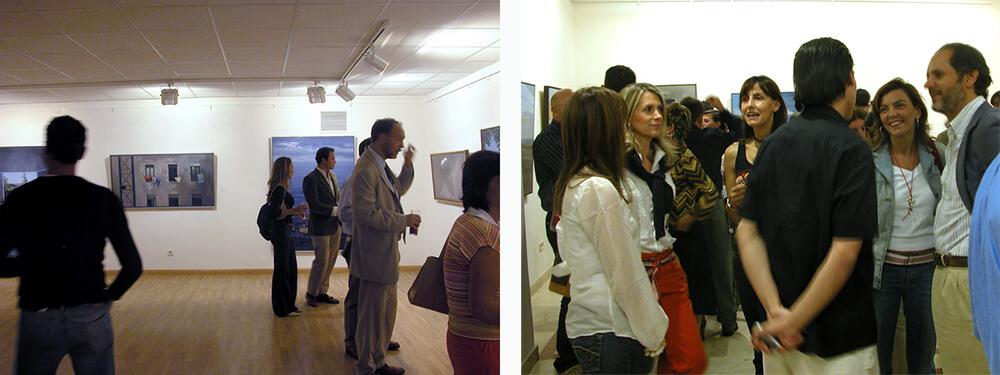 """2005 """"Exposición Colectiva Septiembre 2005- Avilés, Izquierdo, Luque, Rodés"""". Galería Ansorena. Madrid, España."""