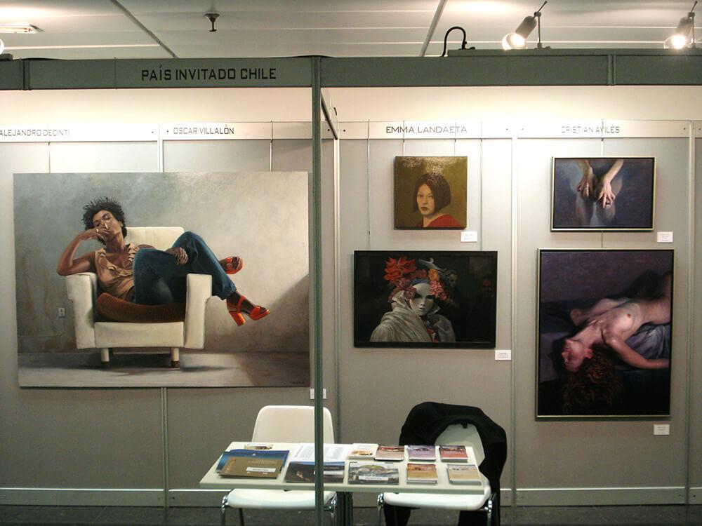 """2009 """"Chile, País Invitado"""". Feria de Arte Contemporáneo FAIM. Madrid, España."""