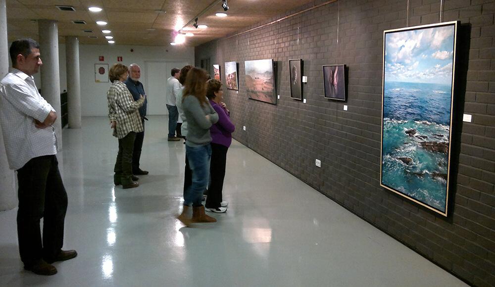 """2012 """"Pinturas Realistas Misceláneas"""". Centro Cultural Pilar Miró. Madrid, España."""