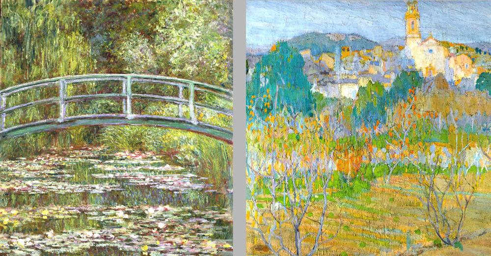 Colores Complementarios. Gris óptico. Teoría del color en el Impresionismo.