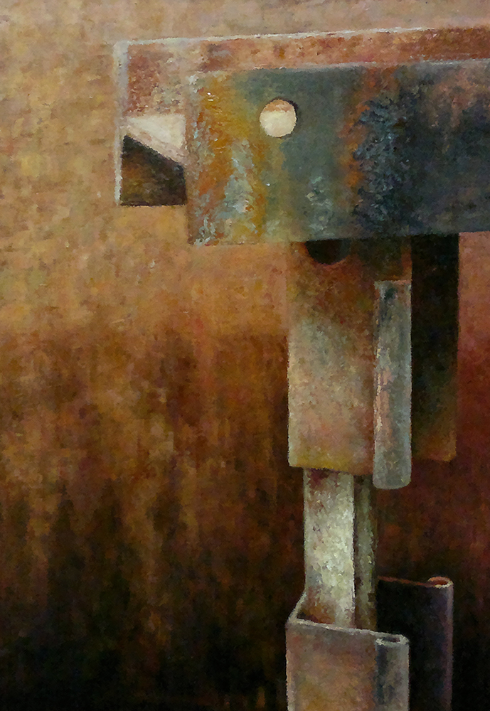Utilización de texturas en el Realismo y en la Abstracción. Cargas, y espátulas.