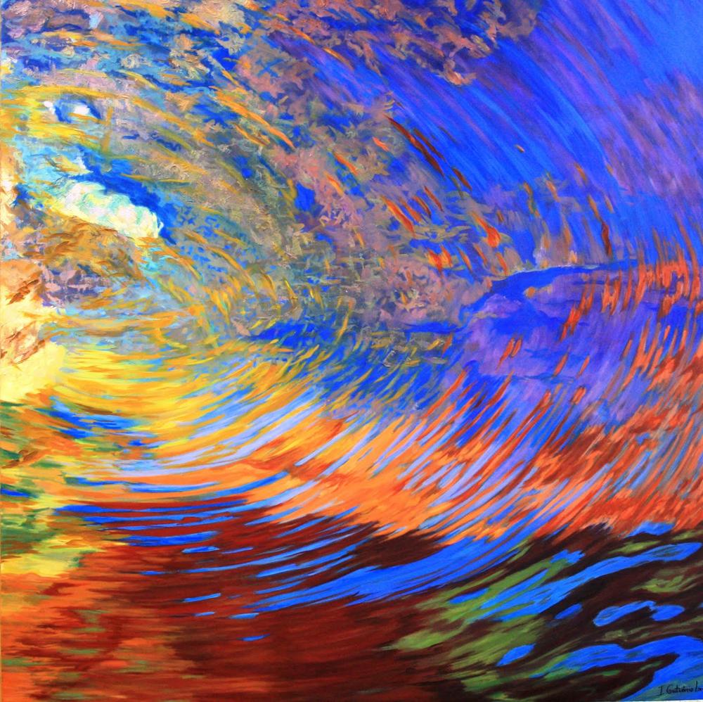 Como hacer una pintura Abstracta, y la utilización de texturas.