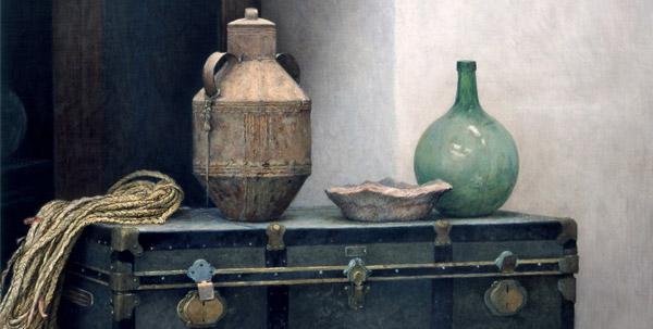 Óleo sobre lienzo encolado a tabla