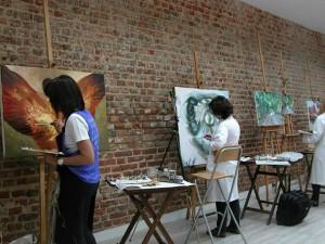 Escuela de pintura Madrid