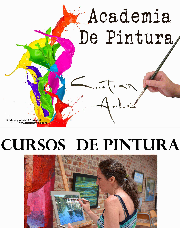Academia De Pintura Madrid Clases Y Cursos De Pintura Cristian  ~ Cursos De Manualidades En Madrid
