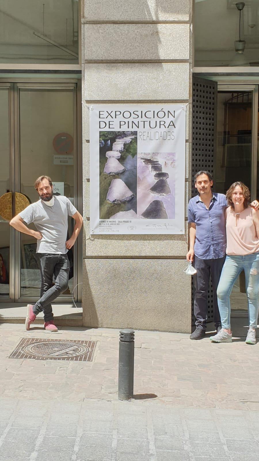 Cristian, Miguel y Cristina. Os esperamos!!